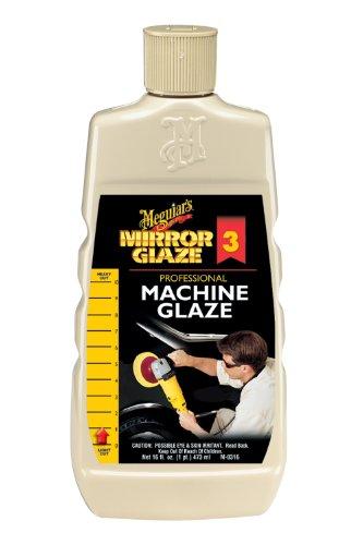 Meguiar's M0316 Mirror Glaze Machine Glaze, 16 Fluid Ounces