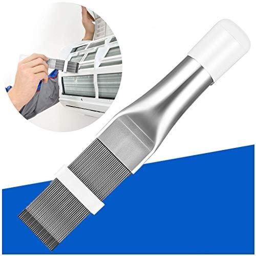 Airconditioning Cleaner Borstel voor Condenser Verdamper Radiator Ac Coil Fin Comb, Koelkast spoel reinigingsborstel, roestvrij staal