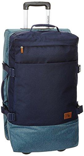 Quiksilver, TrolleyDelay Uomo, Blu (Deep Jungle Dark Denim), 11,8 x 27,5 x 15,7 cm, 60 litri