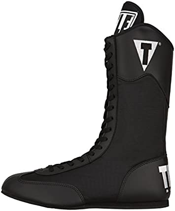 Botas de boxeo Speed-Flex de Title, negro, 8