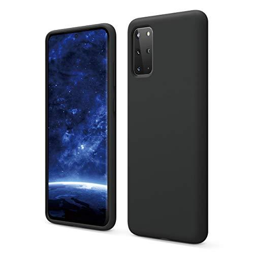 elago Galaxy S20 Plus Silicone Case - Designed for Samsung Galaxy S20 Plus Case (Black)