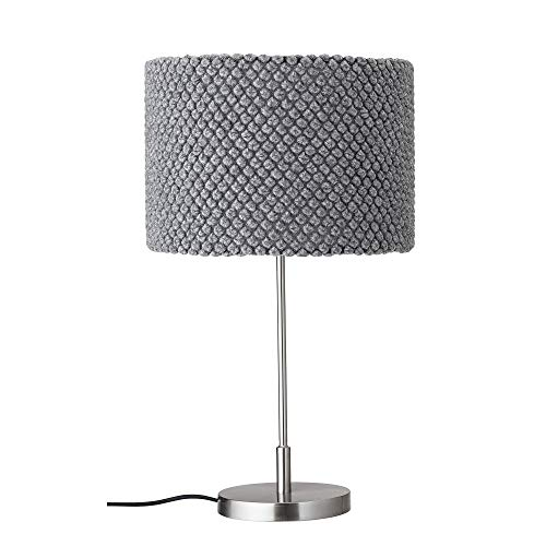 Bloomingville Lámpara de mesa, gris, lana