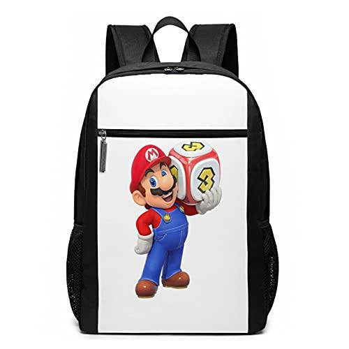 Super-Mario-Party Sac à dos pour ordinateur portable résistant à l'eau pour homme et femme