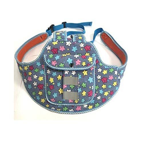 Winkel-Blau Kids Baby Gurtband Keeper Anti Lost Line Schmetterling-Rose