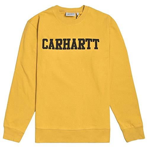 Carhartt College Sweat Sudadera Hombre Amarillo I024668S651