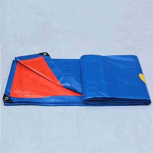 QYQPB Bâche de Sol épaisse en polyéthylène imperméable pour Camping, pêche, Jardinage 180 g/m² Épaisseur 0,25 mm Multi Taille imperméable en Option, 4 * 8m