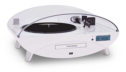 Thomson TT400CD - Tocadiscos, blanco