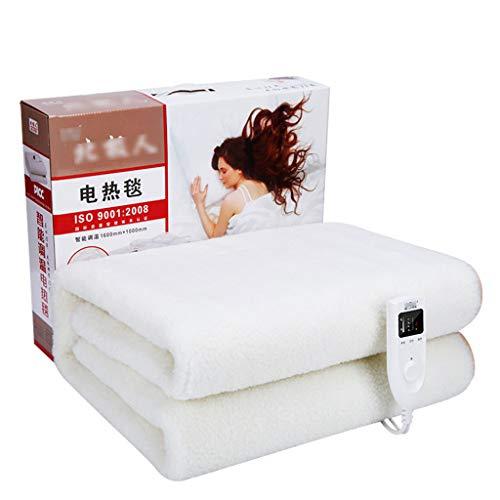 NHL-DRT enkele elektrische deken, comfortabel en zacht, veilig en gewild, intelligente timer kan de thermische deken 160 x 100 cm reinigen, warm matras