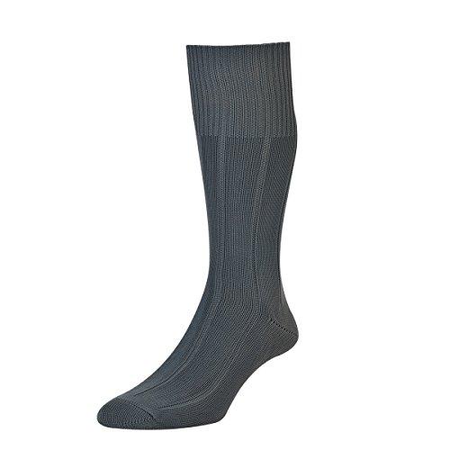HDUK Mens Socks HJ Hall Unzerstörbare HJ1 Schlauchstrümpfe mit breiter Rippe, Größe 39-45 & EU 45-47 Gr. UK 11-13 EU 45-47, dunkelgrau