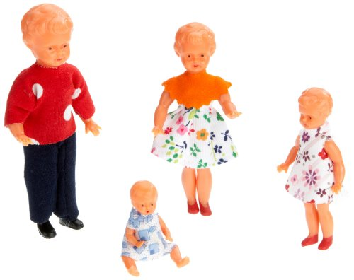 Unbekannt Schwenk 15410 - Puppenfamilie 4 Personen 5-12 cm