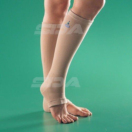 SDA Spataderenkel, kalf steun, bloedcirculatie, compressiesokken van OPPO - POST Surgery Sleeve - Vlucht/DVT, zwelling, reizen, legging, vliegtuig en POP voeten - spierzwakte, vermoeidheid, pijnverlichting