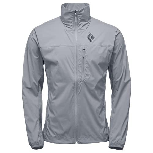 Black Diamond M Alpine Start Jacket Giacca da uomo, Uomo, Giacca da uomo, Z203, Cenere, XL