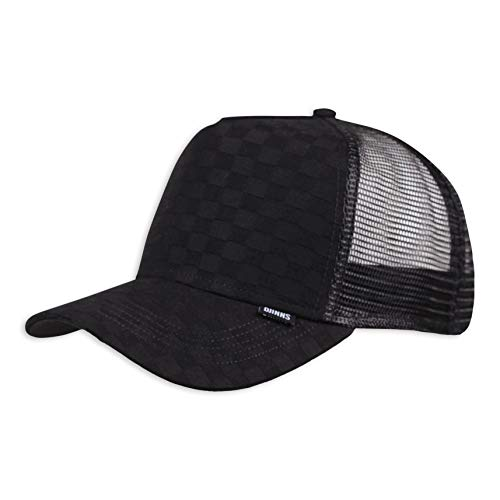 Djinns Djinns Trucker Cap Louicheck Black - One-Size