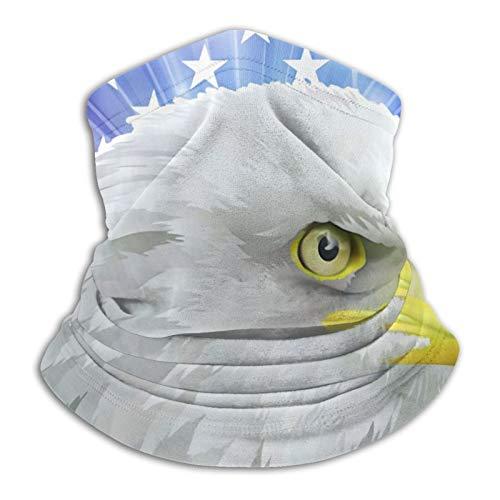 YBEAYQYXR Bald Adler Kopf in Amerikanischer Flagge Patriotische Armee Streifen Stern...