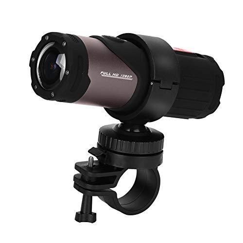 Richer-R HD 1080P Mini Sport DV Kamera, 12MP 10M Wasserdicht Fahrrad Motorrad Helm Kamera,WiFi Mini Sport Kamera Helm Fahrradhelm Digital Videokamera für Outdoor-Sportarten Schwarz
