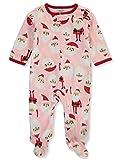 Carter's Pink Santa PJs for Girls (3M)