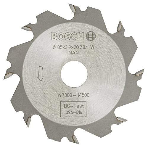 Bosch Professional Zubehör 3608641008 Scheibenfräser 8, 20 mm, 4 mm