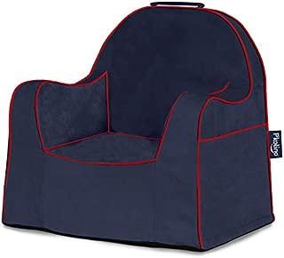 P'Kolino PKFFLRSNRD Little Reader Toddler Navy with RedPiping Children's Chair One Size