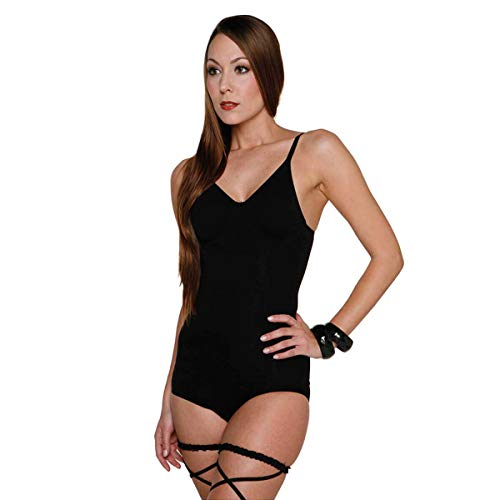 Skin Wrap Shapewear Damen - Unterhemd Bauchweg Hemd Body Shaper Damen Shaping Unterwäsche Damen Top - leicht & formend in Schwarz Größe M