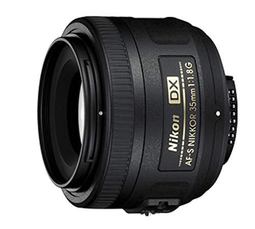 Nikon Obiettivo Nikkor AF-S DX 35 mm f/1.8G, Nero [Versione EU]