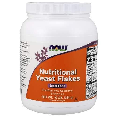 Levedura Nutricional em Flocos Nutritional Yeast Flakes 284g - NOW
