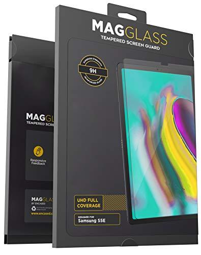 Película protetora de tela Magglass para Samsung Galaxy Tab S5e (vidro temperado) resistente a arranhões e ultratransparente (bordas amigáveis)
