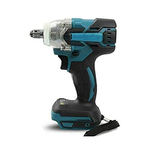 Bluetooth earphone Impact Wrench, 18V Cordless Impact Driver Drill Set Power Tools Brushless Drill + Nuts for Adults