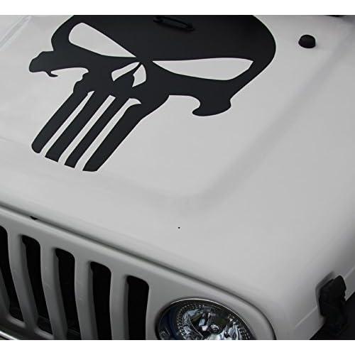 wrangler CJ,YJ,TJ  OUTDOORS V2 BLACK Jeep Hair Don/'t Care decal bumper sticker