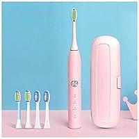 大人と子供のための音波電動歯ブラシ、大人の充電式電動歯ブラシ、超音波電動防水歯ブラシ