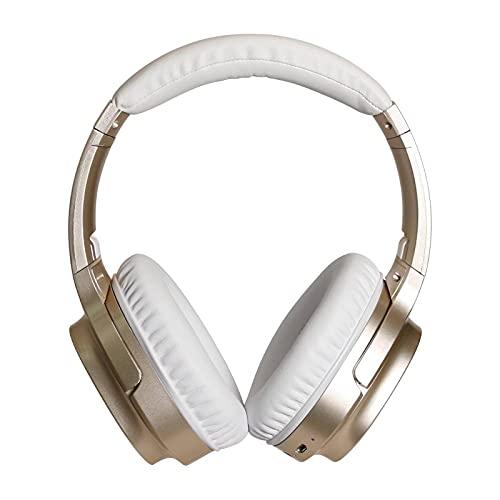 N\C LY905 ANC Auriculares Plegables inalámbricos Bluetooth 5.0 con cancelación Activa de Ruido