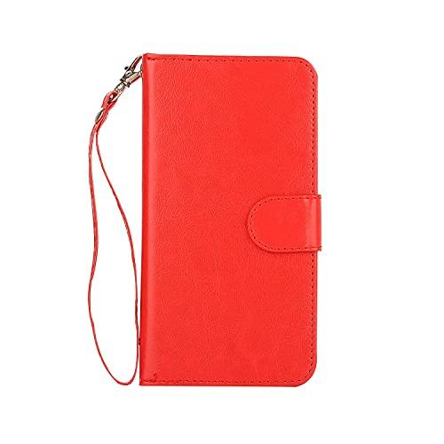 Funda protectora Para Samsung Galaxy S6 Edge Funda de cuero de la billetera, estuche de teléfono del soporte de la tarjeta de crédito, caja de soporte Tipo de teléfono móvil y caja de pulsera desmonta