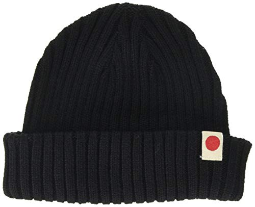 JACK & JONES Herren JACRDD Knit Short Beanie NOOS Strickmütze, Schwarz (Black Black), ONE Size