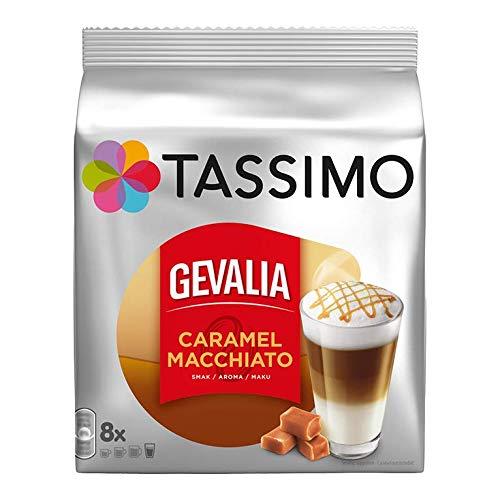 Tassimo Gevalia Kaffee Caramel Latte Macchiato, Kaffeekapsel, 16 T-Discs