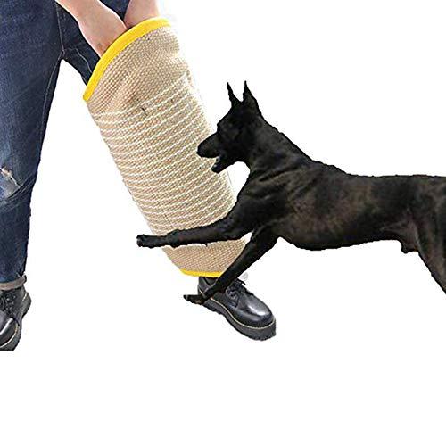 YUNDING Mordedura De Perro Mangas Remolcadores Juguetes Producto De Entrenamiento para Perro Mascota Pierna De Protección para Perros De Trabajo Pastor Alemán