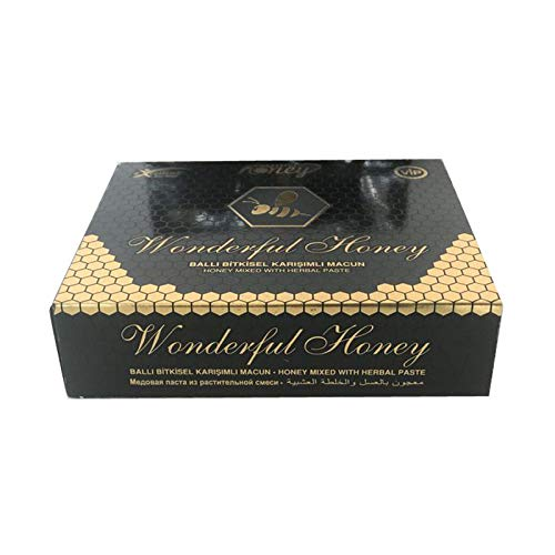 Wonder Mix with Herbal Paste Wunderfull Original Royal Miscela della forza della pasta di erbe Force Natural Ballı Bitkisel Karisimli Macun Exp.2021