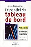 L'essentiel du tableau de bord - Méthode complète et mise en pratique avec Microsoft Excel - Eyrolles - 29/04/2011