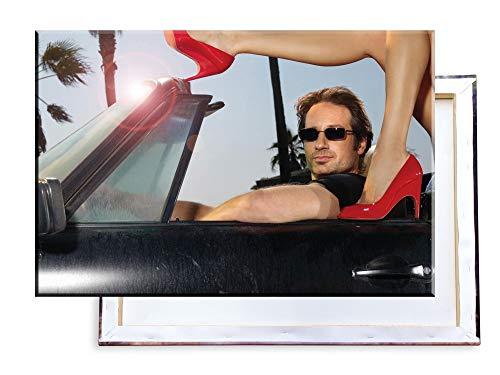 Unified Distribution Californication - 100x70 cm Kunstdruck auf Leinwand • erstklassige Druckqualität • Dekoration • Wandbild