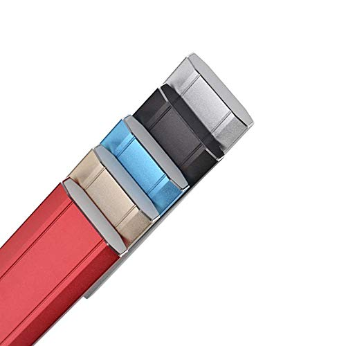 Disco duro externo portátil de 1 TB de 2 TB, disco duro externo ultrafino, compatible con PC, Mac, escritorio, portátil (rojo-1 TB) miniatura