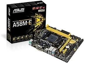 Asus A58M-E Socket FM2+/ AMD A58 FCH/ DDR3/ SATA3/ A&GbE/ MicroATX Motherboard