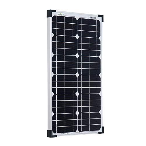Offgridtec 30 W Solarmodul Mono 12 V, Solarpanel, Solarzelle, Photovoltaikmodul, 3-01-001530