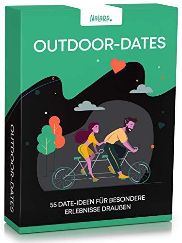 Nalara Outdoor Dates - 55 liebevolle Ideen um eine unvergessliche gemeinsame Zeit zu erleben - Partner Geschenke - Hochzeitstag Geschenke für Männer
