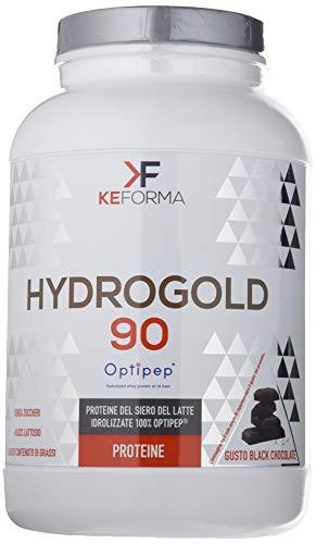 Keforma Hydro Gold 90, Cioccolato Nero - 900 g