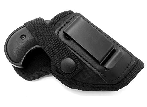 Right Hand Inside Outside Pants Concealment Holster for Big BORE Derringer Without Trigger Guard - Cobra CB22 CB32M CB38 2.75 Barrel