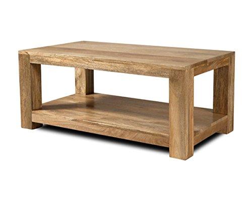 Dakota Light Mango Large Coffee Table - Indian Living Room Furniture