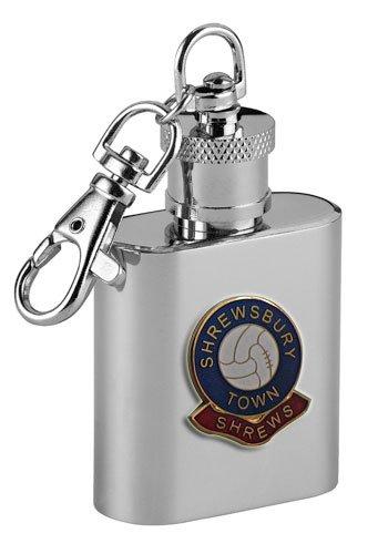 Shrewsbury Town 'Shrews' Football Club 1oz Keyring Hip Flask