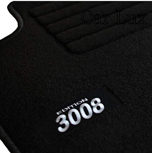 Car Lux AR02783 Tapis de voiture en velours pour 3008