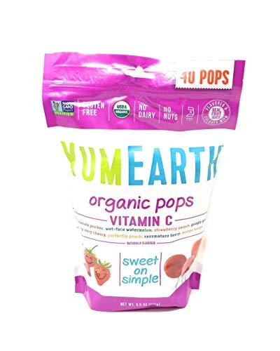 Yummy Earth Lollipop OG2 VIT C 40 85 OZ 2 Pack