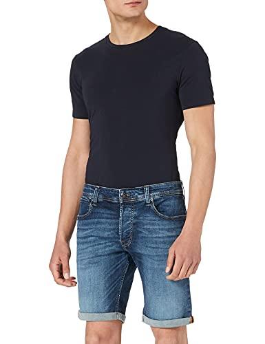 Jack & Jones Jjirick Jjorg Shorts JJ 057 50sps STS Pantalones Cortos, Mezclilla Azul, S para Hombre