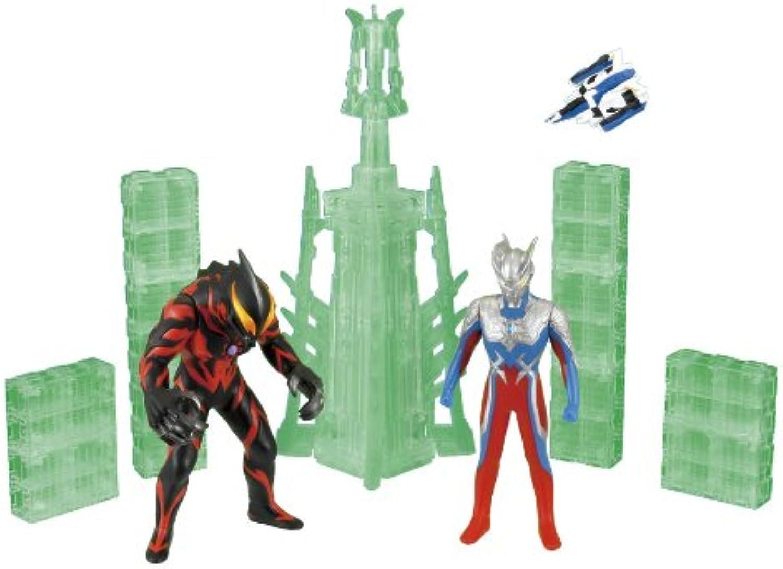 Ultraman City Series 03 Ultraman Zero VS Ultraman Berial (japan import)