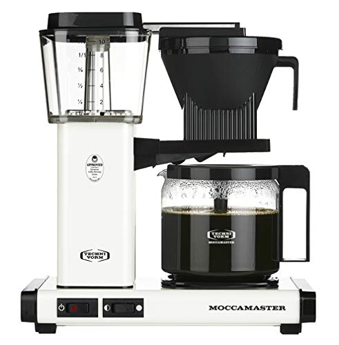 Technivorm Moccamaster 53959 KBG Coffee Brewer, 40 oz, Off-White